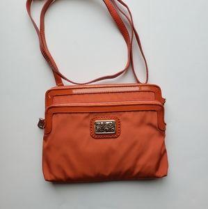 Brighton Bag Crossbody Orange Color Shoulder Bag M